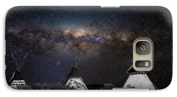 Galaxy Case featuring the photograph Awesome Skies by Carolyn Dalessandro