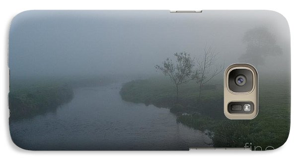 Galaxy Case featuring the photograph Axe In The Mist by Gary Bridger