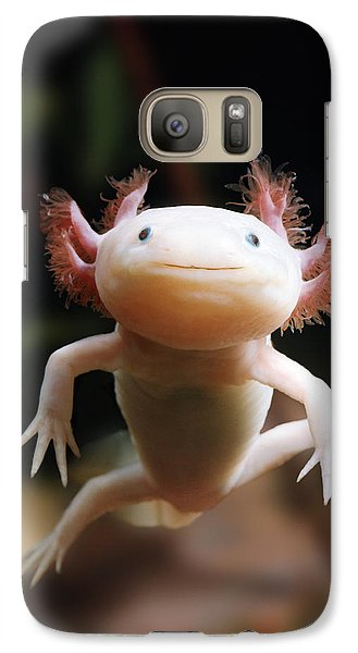 Axolotl Face Galaxy S7 Case