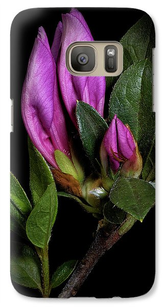 Galaxy Case featuring the photograph Azalea Buds by Richard Rizzo
