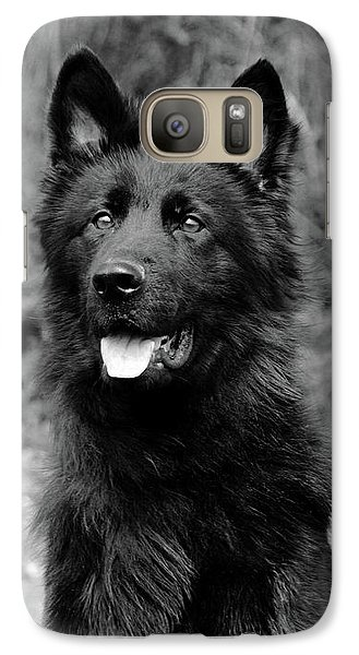 Galaxy Case featuring the photograph Aziza  by Sandy Keeton