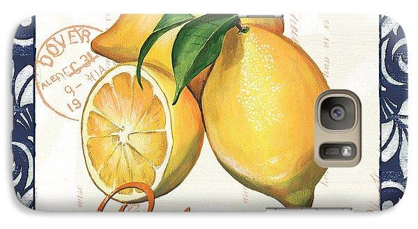 Lemon Galaxy S7 Case - Azure Lemon 2 by Debbie DeWitt