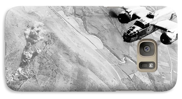 B-25 Bomber Over Germany Galaxy S7 Case