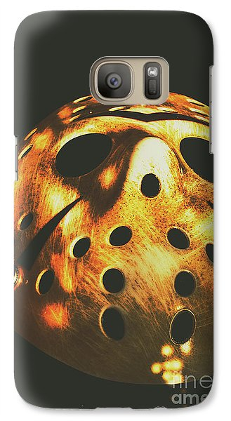 Hockey Galaxy S7 Case - B Grade Madness by Jorgo Photography - Wall Art Gallery