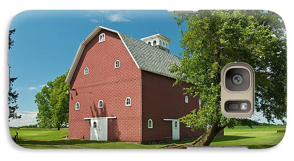 Galaxy Case featuring the photograph Babcock Barn 2259 by Guy Whiteley