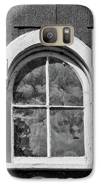 Galaxy Case featuring the photograph Babcock Window 2273 by Guy Whiteley