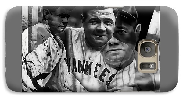 Babe Ruth Collection Galaxy Case by Marvin Blaine