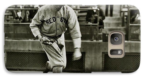 Babe Ruth Pitching Galaxy S7 Case