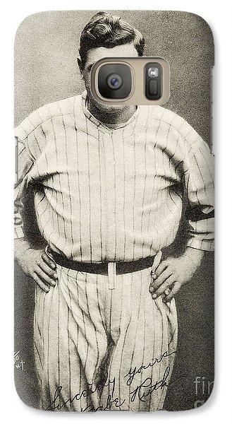 Babe Ruth Portrait Galaxy S7 Case