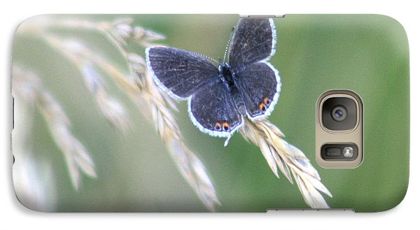 Galaxy Case featuring the photograph Baby Blue by David Dunham