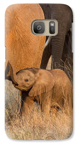 Baby Elephant 2 Galaxy S7 Case