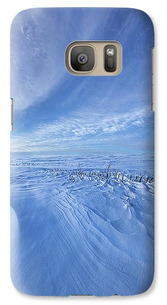 Galaxy Case featuring the photograph Baby It's Cold Outside by Phil Koch