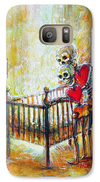 Galaxy Case featuring the painting Baby Love by Heather Calderon