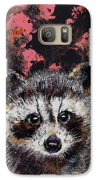Baby Raccoon Galaxy S7 Case