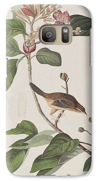 Bachmans Sparrow Galaxy S7 Case by John James Audubon