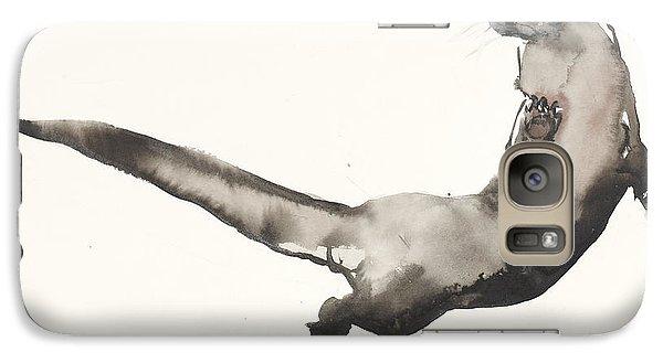 Back Awash   Otter Galaxy Case by Mark Adlington