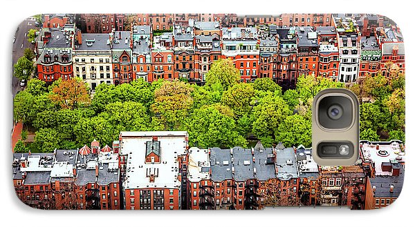 Galaxy Case featuring the photograph Back Bay Boston  by Carol Japp