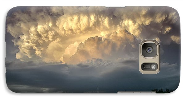 Galaxy Case featuring the photograph Back Of The Beast by James Menzies