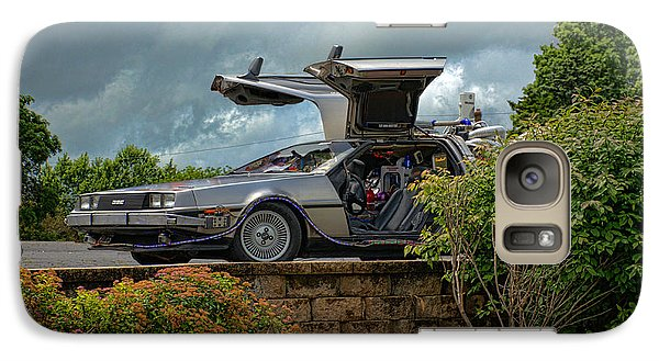 Galaxy Case featuring the photograph Back To The Future II Replica by Tim McCullough