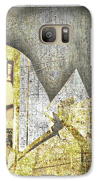 Galaxy Case featuring the mixed media Bad Luck by Tony Rubino
