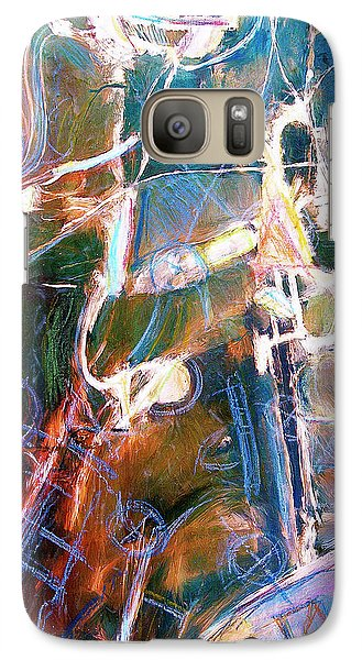 Galaxy Case featuring the painting Badlands 1 by Dominic Piperata