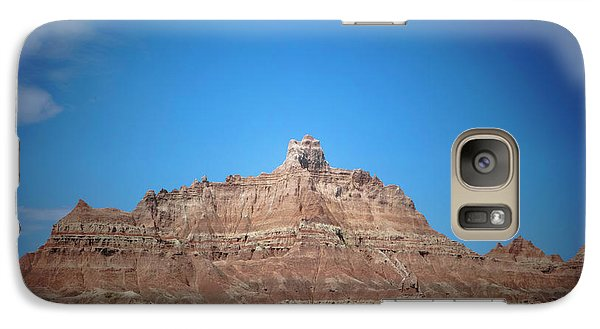 Galaxy Case featuring the photograph Badlands Canyon by Heidi Hermes