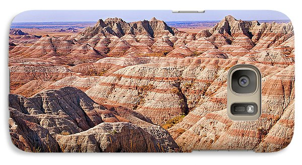 Galaxy Case featuring the photograph Badlands by Mary Jo Allen