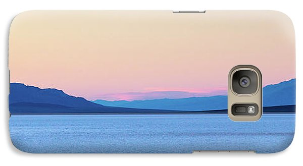 Galaxy Case featuring the photograph Badwater - Death Valley by Peter Tellone