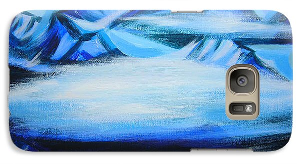 Galaxy Case featuring the painting Baffin Island by Anna  Duyunova