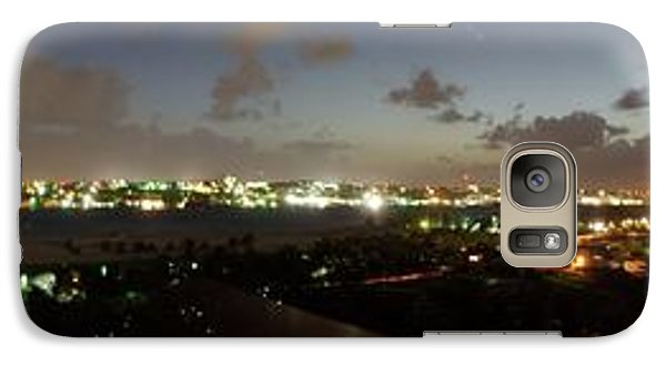 Galaxy Case featuring the photograph Bahama Night by Jerry Battle