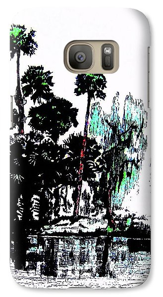 Galaxy Case featuring the painting Bahia San Lucas by Roberto Prusso