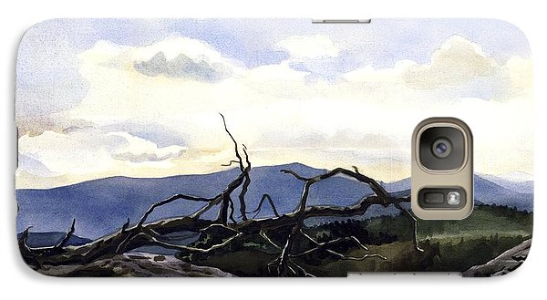 Galaxy Case featuring the painting Baker Dam Colorado by Alfred Ng