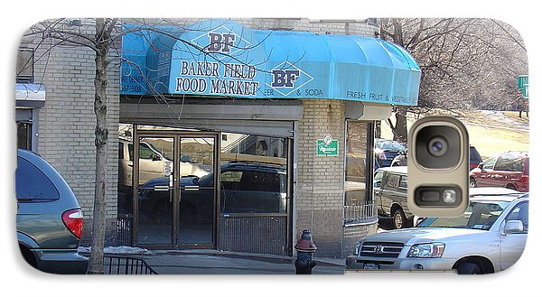 Galaxy Case featuring the photograph Baker Field Deli by Cole Thompson