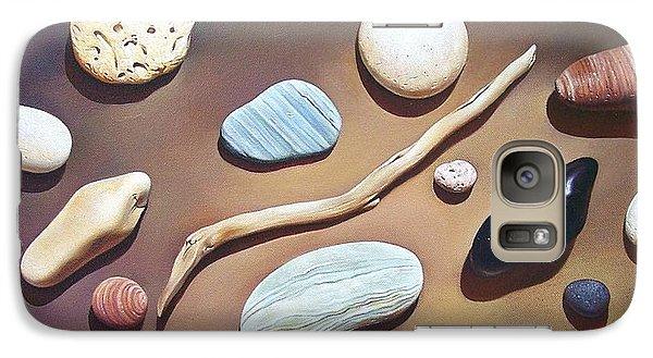 Galaxy Case featuring the painting Balance by Elena Kolotusha
