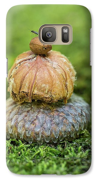 Galaxy Case featuring the photograph Balance With Nature by Dale Kincaid