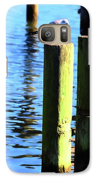 Galaxy Case featuring the photograph Balanced by Jan Amiss Photography