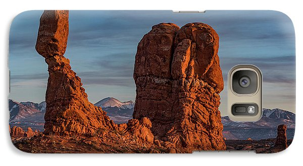 Balanced Rock Sunset Galaxy S7 Case