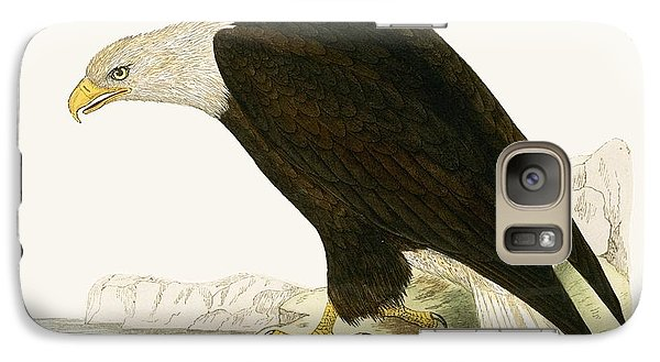 Bald Eagle Galaxy S7 Case by English School