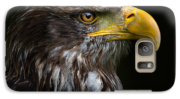 Galaxy Case featuring the photograph Bald Eagle by Joerg Lingnau