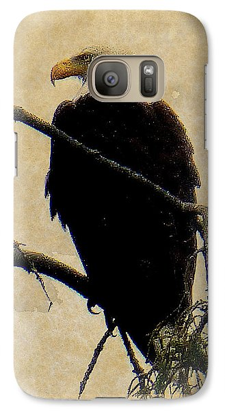 Galaxy Case featuring the photograph Bald Eagle by Lori Seaman