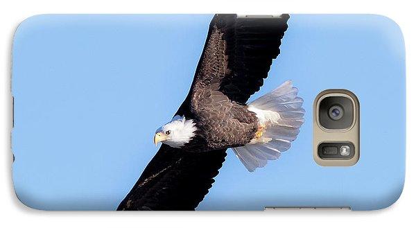 Bald Eagle Overhead  Galaxy S7 Case