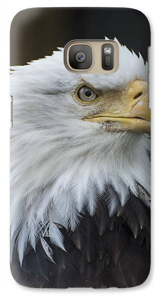 Bald Eagle Portrait Galaxy S7 Case