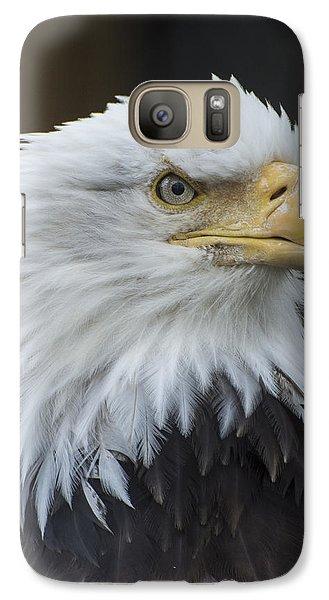 Bald Eagle Portrait Galaxy S7 Case by Gary Lengyel