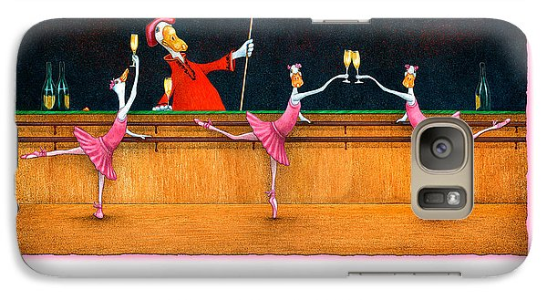 Galaxy Case featuring the painting Ballet Up To The Barre... by Will Bullas