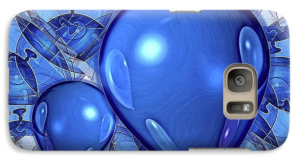 Galaxy Case featuring the digital art Balloons by Ron Bissett
