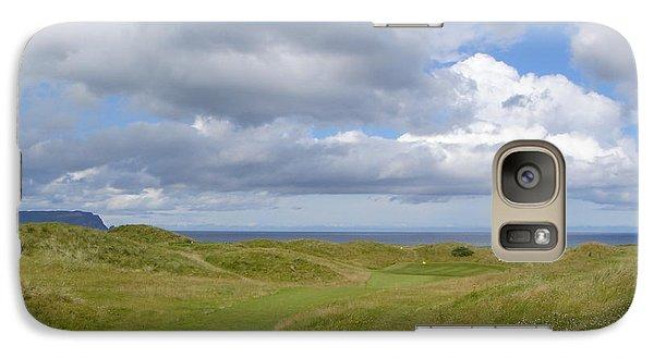 Galaxy Case featuring the photograph Ballyliffin Ireland Golf 1 by Jan Daniels