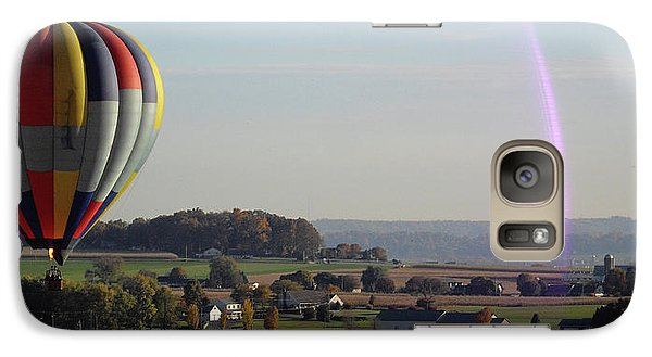 Galaxy Case featuring the photograph Baloon Ride by Vilas Malankar