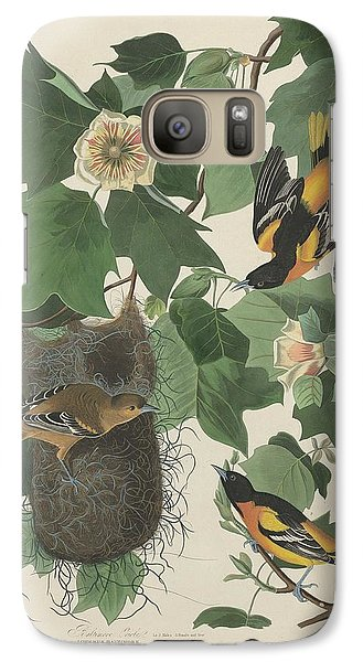 Baltimore Oriole Galaxy S7 Case by Rob Dreyer