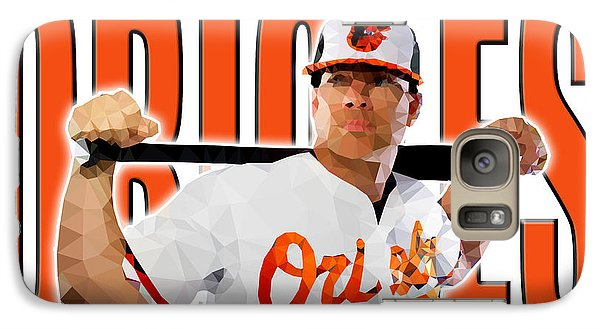 Galaxy Case featuring the digital art Baltimore Orioles by Stephen Younts