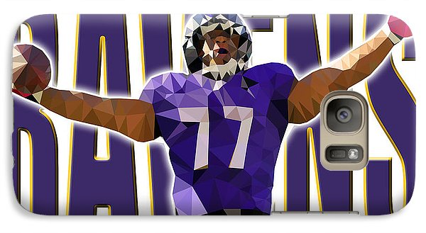 Galaxy Case featuring the digital art Baltimore Ravens by Stephen Younts